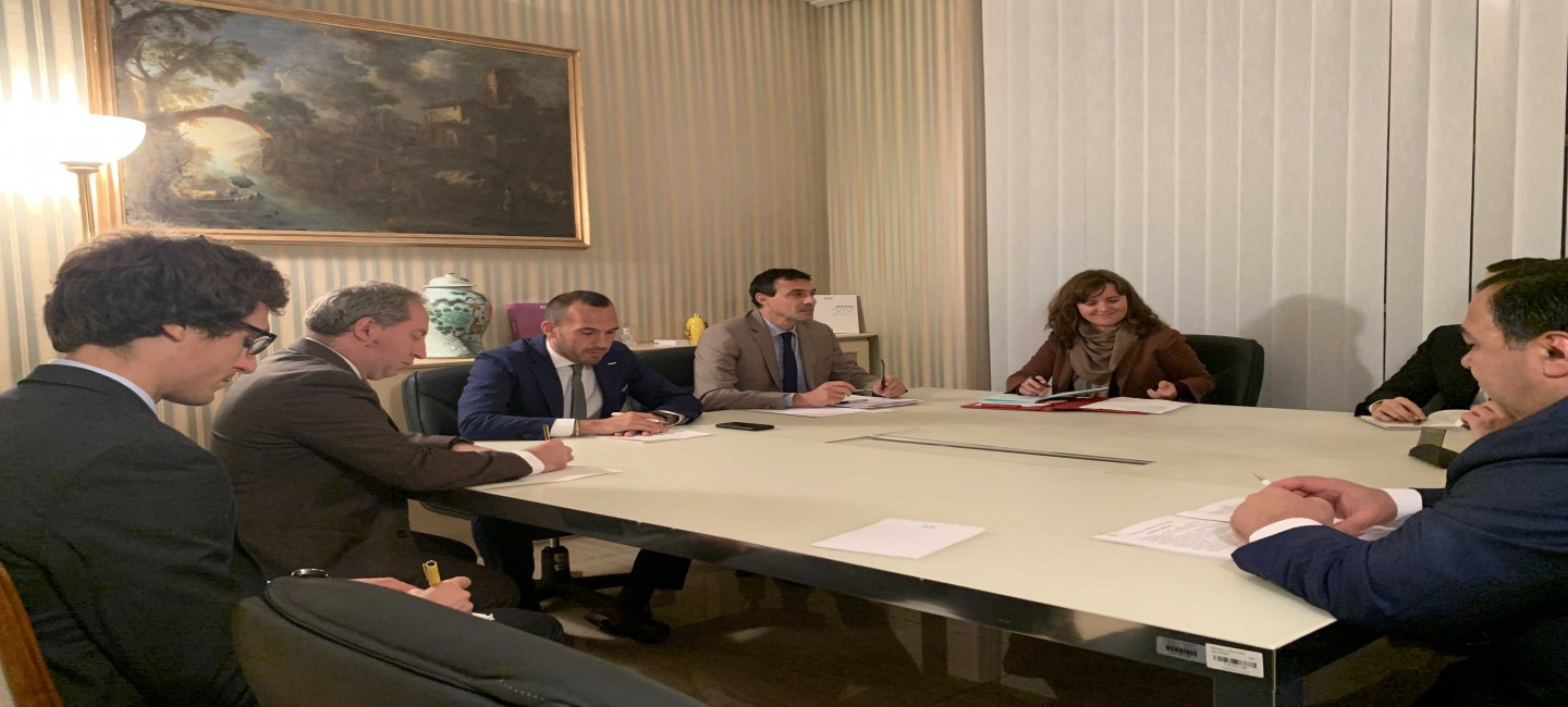 WORKING VISIT OF THE DELEGATION OF TURKMENISTAN TO ITALY