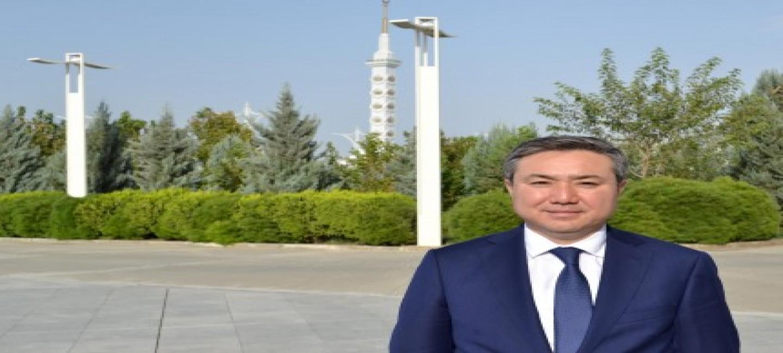 ВСТРЕЧА С НОВЫМ ПОСЛОМ РЕСПУБЛИКИ КАЗАХСТАН В ТУРКМЕНИСТАНЕ