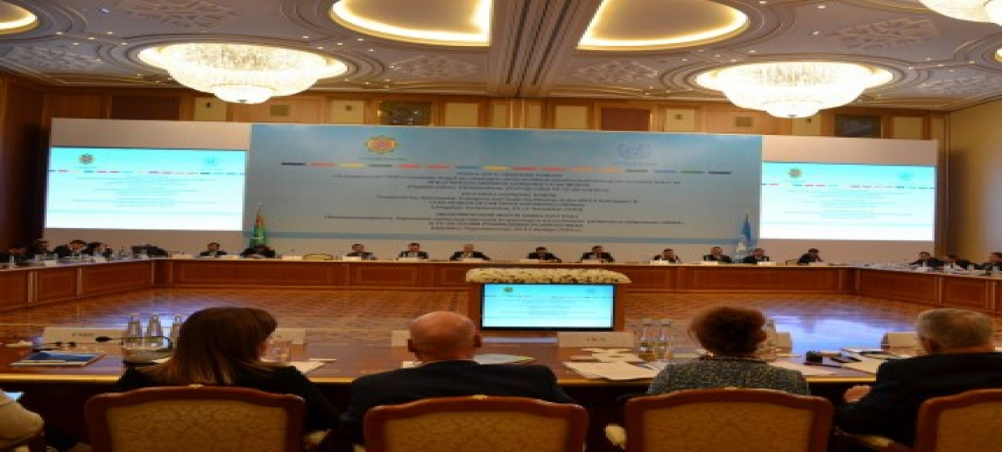 """THE """"ASHGABAT INITIATIVE"""" ADOPTED UPON THE RESULTS OF THE SPECA ECONOMIC FORUM"""