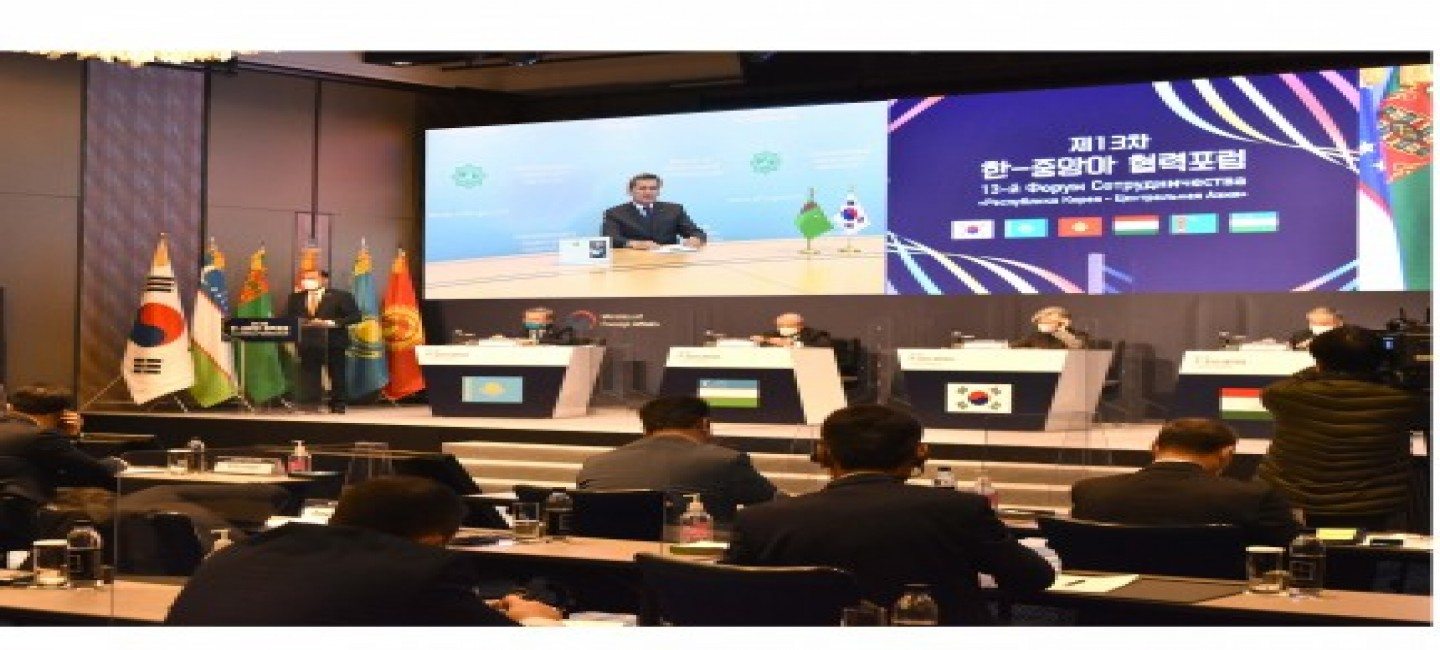 TURKMENISTAN ADVOCATES COOPERATION IN RESOLVING REGIONAL AND GLOBAL ENVIRONMENTAL PROBLEMS
