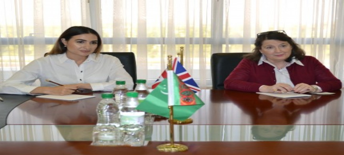 AMBASSADOR OF THE GREAT BRITAIN COMPLETES HER DIPLOMATIC MISSION IN TURKMENISTAN
