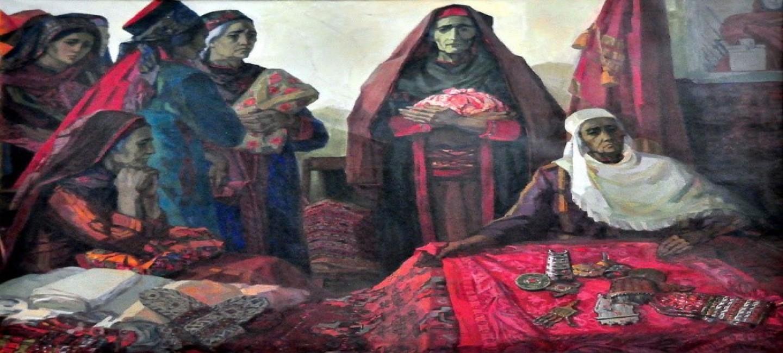 История создания одной картины Евгении Адамовой