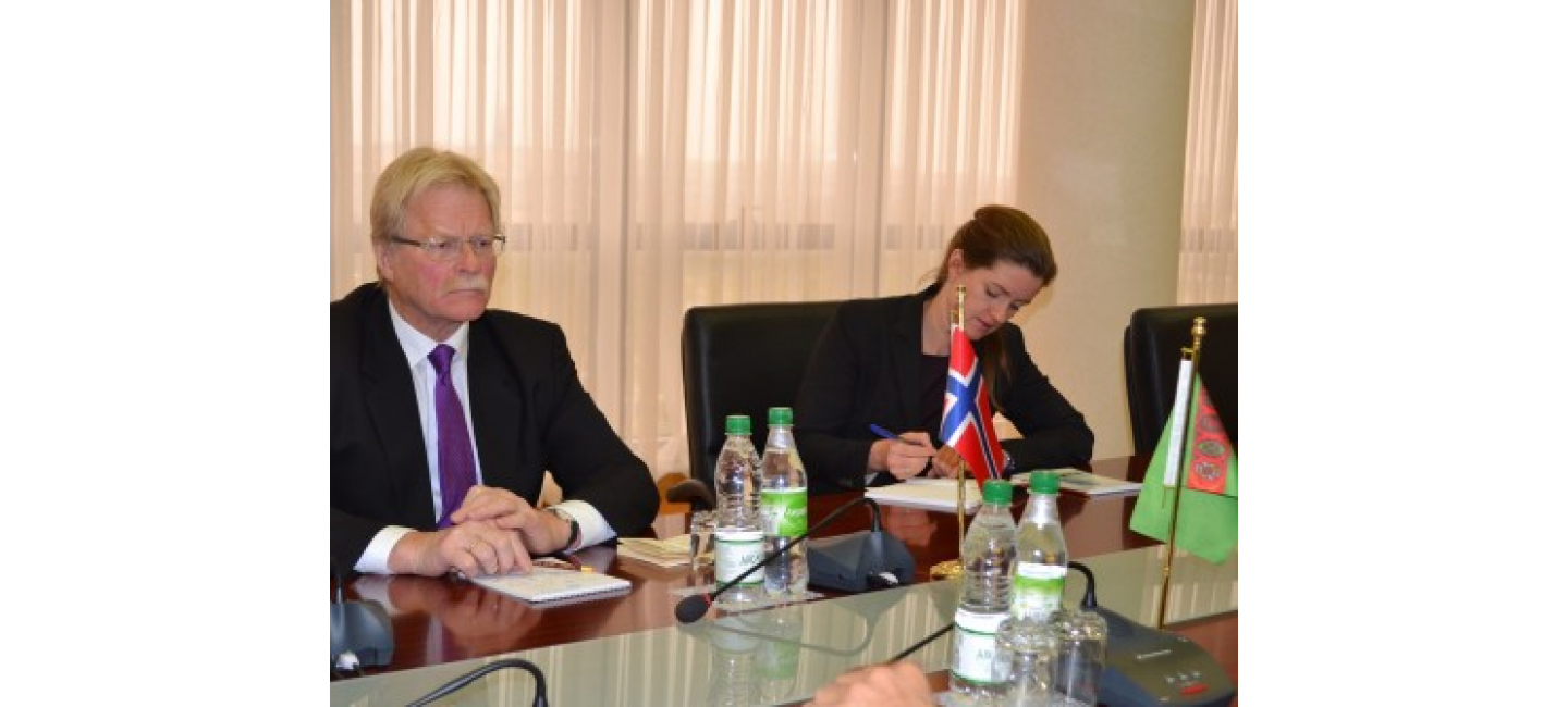 PERSPECTIVES OF THE DEVELOPMENT OF TURKMEN-NORWEGIAN RELATIONS DISCUSSED IN THE MFA OF TURKMENISTAN