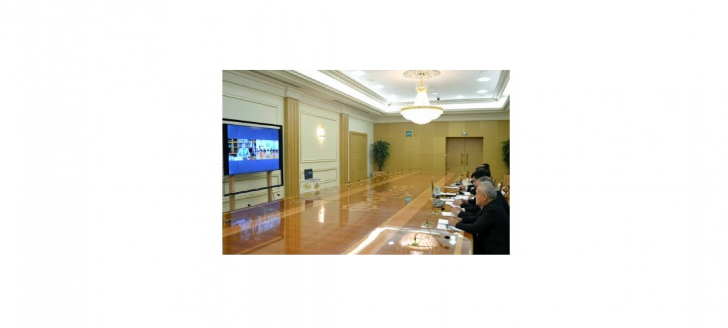 A MEETING WAS HELD BETWEEN REPRESENTATIVES OF THE INDUSTRIAL COMPLEX OF TURKMENISTAN AND THE RUSSIAN FEDERATION