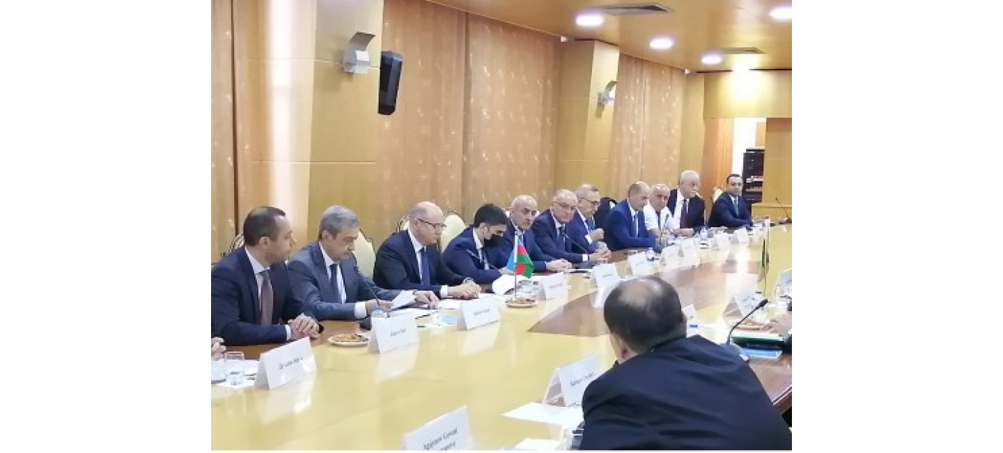 THE REPRESENTATIVES OF THE OIL AND GAS SECTOR OF TURKMENISTAN AND THE REPUBLIC OF AZERBAIJAN DISCUSSED THE PROSPECTS OF JOINT WORK ON THE CASPIAN SEA