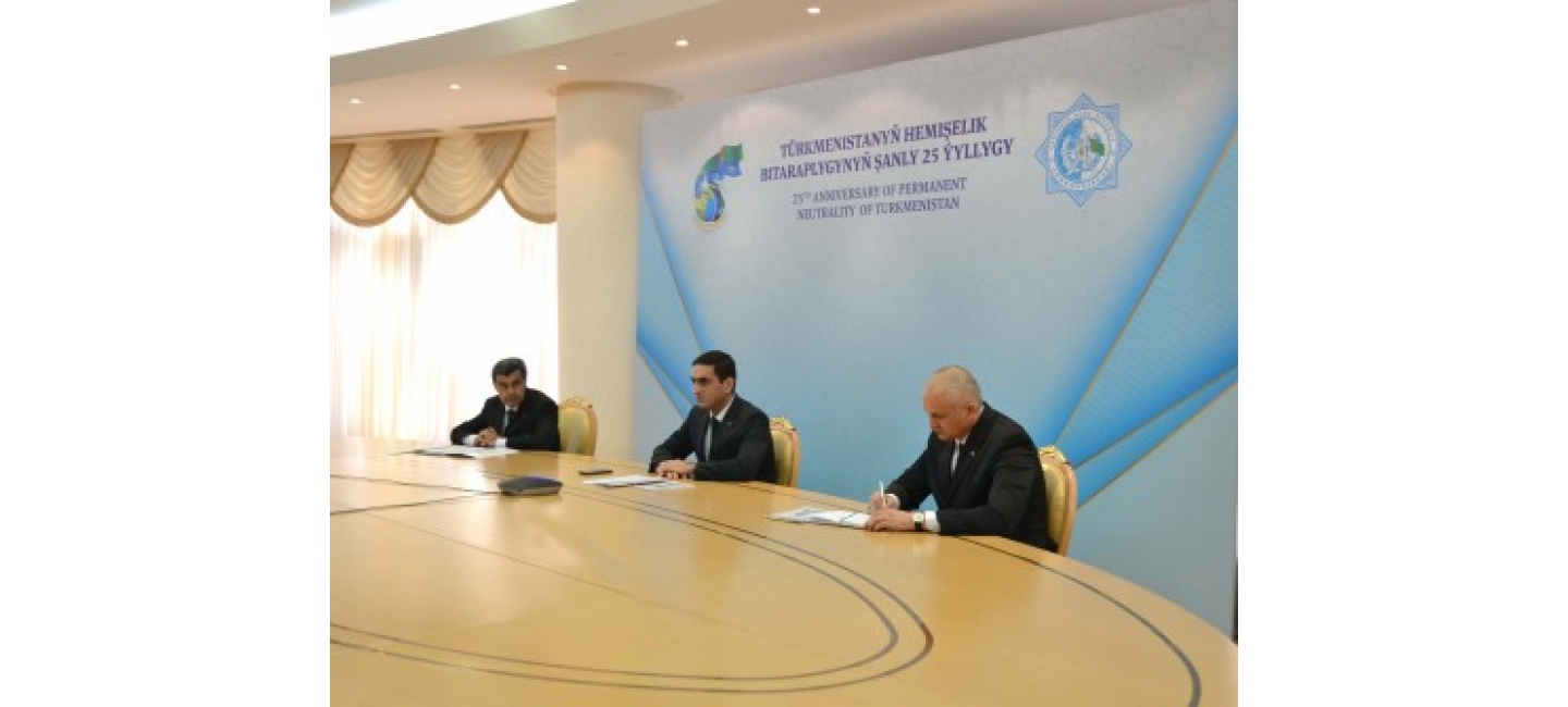 """DIPLOMATIC ONLINE COURSES ON THE TOPIC """"NEUTRALITY OF TURKMENISTAN - FOR THE SAKE OF PEACE, STABILITY AND SUSTAINABLE DEVELOPMENT"""" HAVE COMPLETED THEIR WORK"""