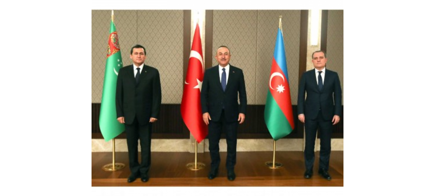 TRILATERAL MEETING OF THE HEADS OF THE FOREIGN POLICY AGENCIES OF TURKMENISTAN, AZERBAIJAN AND TURKEY HELD IN ANKARA