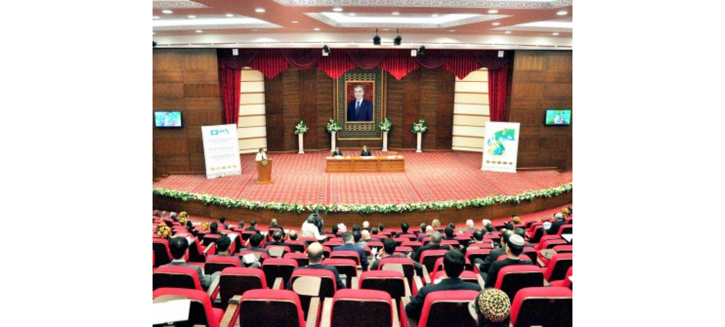 INTERNATIONAL CONFERENCE IN HONOR OF THE 75TH ANNIVERSARY OF THE UN AND THE 25TH ANNIVERSARY OF THE PERMANENT NEUTRALITY OF TURKMENISTAN WAS HELD IN ASHGABAT
