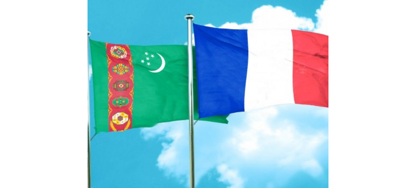 TURKMENISTAN AND FRANCE SET PRIORITIES FOR MUTUALLY BENEFICIAL COOPERATION